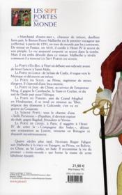 Les sept portes du monde - 4ème de couverture - Format classique