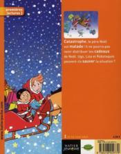Les petis métiers d'Ugo et Liza ; Ugo et Liza, pères Noël - 4ème de couverture - Format classique