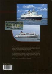 Car-ferries et court-courriers - 4ème de couverture - Format classique