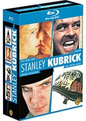 Stanley Kubrick - Coffret - Eyes Wide Shut + Shining + Orange Mécanique + Full Metal Jacket - Couverture - Format classique