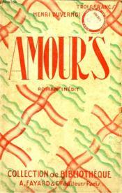 Amour'S. Collection De Bibliotheque N° 24. - Couverture - Format classique