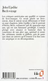 Bech voyage - 4ème de couverture - Format classique