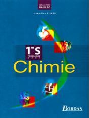 Chimie 1re s 2001 - Couverture - Format classique