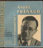 Andre Frenaud - Collection Poetes D'Aujourd'Hui N°37 - Couverture - Format classique