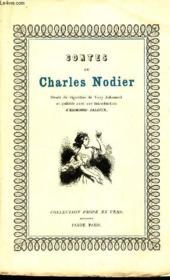 Contes De Charles Nodier - Couverture - Format classique