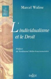L'individualisme et le droit - Intérieur - Format classique