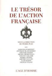 Le trésor de l'action française - Couverture - Format classique