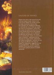 Saveurs De France : Vin Et Cuisine - 4ème de couverture - Format classique