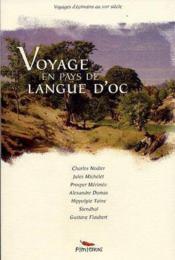 Voyage en pays de Langue d'Oc - Couverture - Format classique