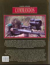 Commandos - 4ème de couverture - Format classique