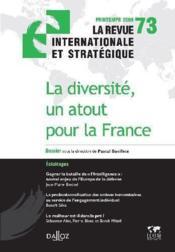 La diversité, un atout pour la France - Couverture - Format classique