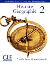 Histoire-Géographie ; niveau 2 - Couverture - Format classique
