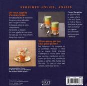 Verrines jolies, jolies - 4ème de couverture - Format classique