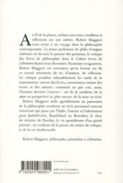 Le métier de critique ; journalisme et philosophie - 4ème de couverture - Format classique
