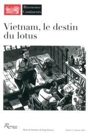 Riveneuve Continents ; Vietnam, Le Destin Du Lotus - Couverture - Format classique