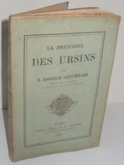 La Princesse des Ursins, par M. Rosseeuw Saint-Hilaire, membre de l'Académie des Sciences Morales et Politiques. - Couverture - Format classique