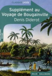 CLASSICO LYCEE ; supplément au voyage de Bougainville, de Denis Diderot - Couverture - Format classique