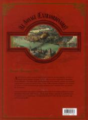 Le voyage extraordinaire T.2 ; le trophée Jules Verne t.2 - 4ème de couverture - Format classique