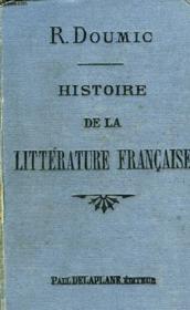 Histoire De La Litterature Francaise - Couverture - Format classique