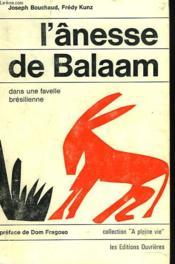 L'Ânesse De Balaam Dans Une Favelle Bresilienne. - Couverture - Format classique
