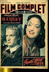 Stars Et Films - Tous Les Jeudis Film Complet N° 142 - Hamlet - Quatre Flirts Et Un Coeur - Couverture - Format classique