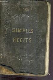 Simples Recits / 2e Edition. - Couverture - Format classique