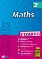 Maths ; 2nde - Intérieur - Format classique