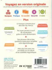 GUIDE DE CONVERSATION ; thaï (5e édition) - 4ème de couverture - Format classique