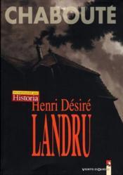 Henri desiré landru - Couverture - Format classique