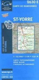 Saint-Yorre - Couverture - Format classique