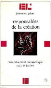 Responsables de la creation - Couverture - Format classique