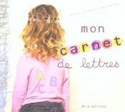 Mon carnet de lettres - Intérieur - Format classique