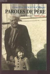 Paroles De Peres - Couverture - Format classique