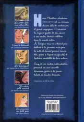 Andersen ; les contes en bandes dessinées - 4ème de couverture - Format classique