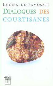Dialogue Des Courtisanes - Intérieur - Format classique