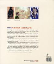 Ensor et les avant-gardes a la mer - 4ème de couverture - Format classique