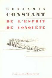 De l'esprit de conquête - Intérieur - Format classique