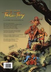 Trolls de Troy T.13 ; la guerre des gloutons t.2 - 4ème de couverture - Format classique