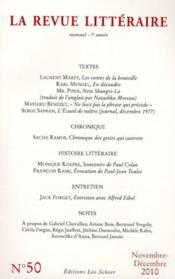La Revue Litteraire N.50 - Couverture - Format classique