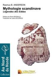 Mythologie Scandinave ; Legendes Des Eddas - Couverture - Format classique
