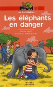 Les éléphants en danger - Couverture - Format classique