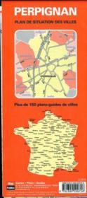 Bf Plan Perpignan - 4ème de couverture - Format classique