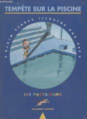Tempête sur la piscine - Couverture - Format classique