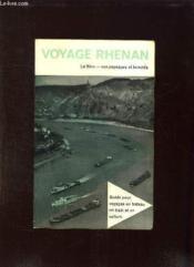 Voyage Rhenan. - Couverture - Format classique