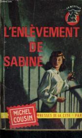 L'Enlevement De Sabine - Couverture - Format classique