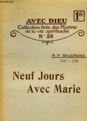 Neuf Jours Avec Marie - N°28 - Couverture - Format classique