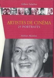 Artistes De Cinema - Couverture - Format classique