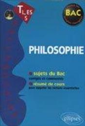 Bacchannales Toutes Sections ; Philosophie ; Sujets Du Bac Corrigés Et Commentés Et Résumé De Cours (2e Edition) - Intérieur - Format classique