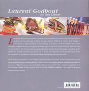 Laurent Godbout Chef Chez L'Epicier - 4ème de couverture - Format classique