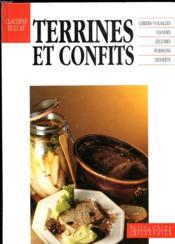 Terrines Et Confits - Couverture - Format classique
